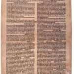 Najstarszy drukowany kalendarz polski